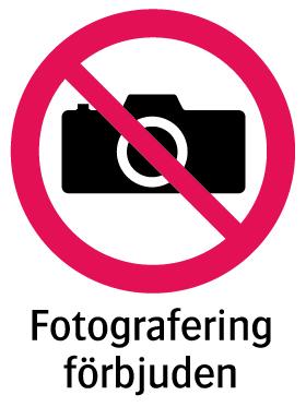 1901 Fotografering förbjuden