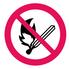 1100 Rökning och öppen eld förbjuden