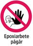 1508 Epoxiarbete pågår
