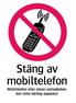 1985 Stäng av mobiltelefon